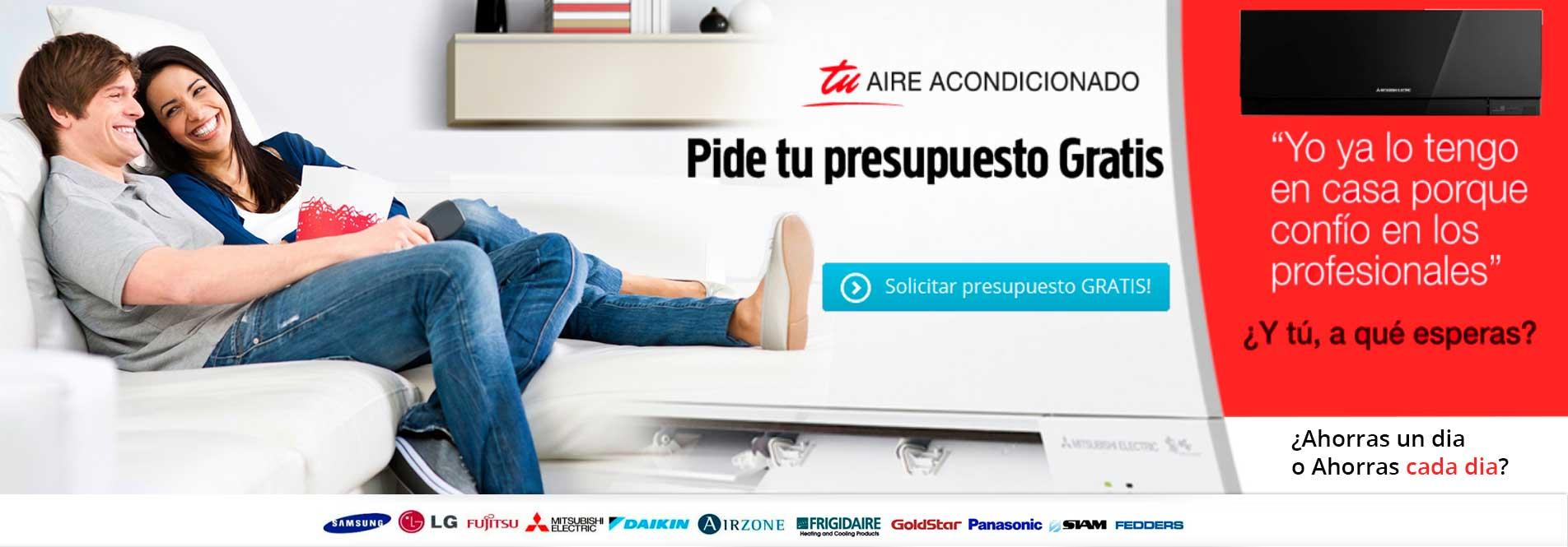 Pide Presupuestos Aires Madrid