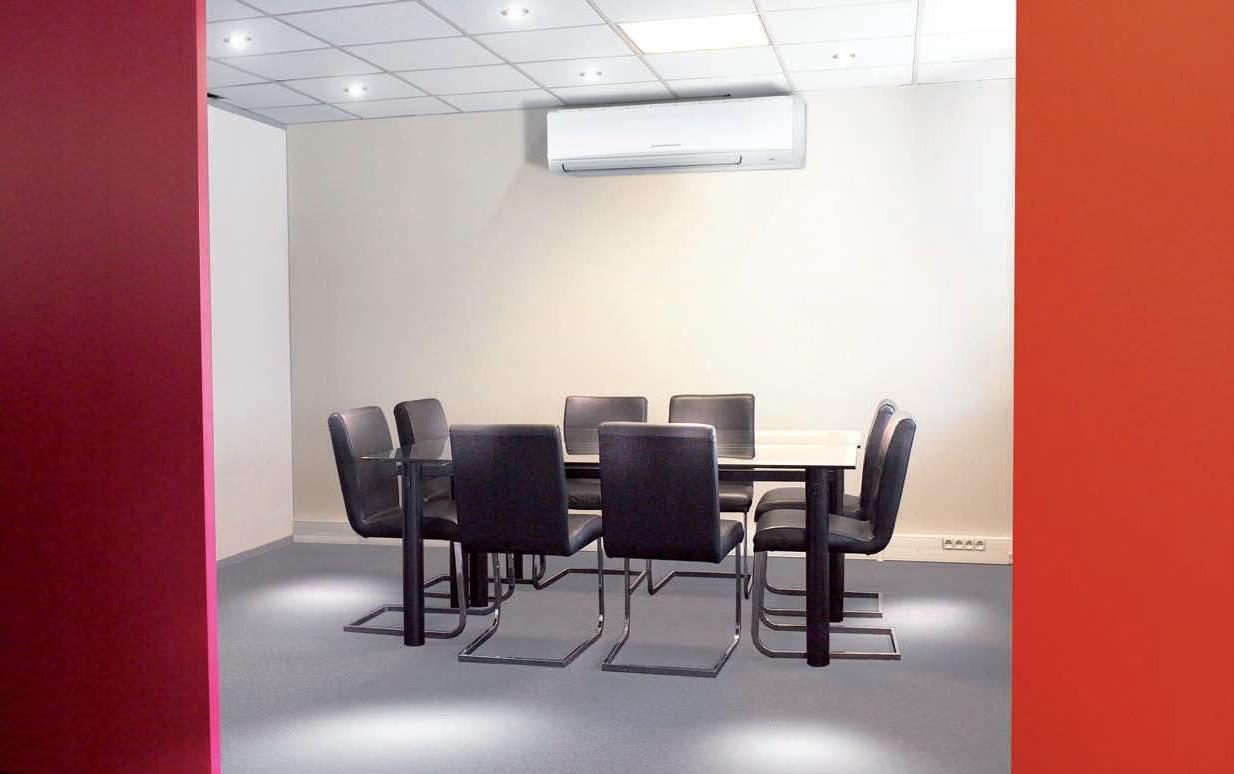 Aire acondicionado en madrid equipamiento oficina b sico for Aire acondicionado oficina